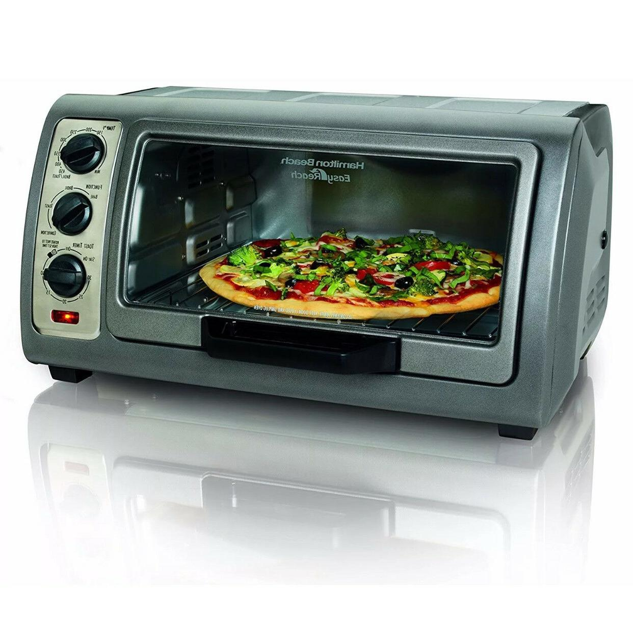 Hamilton reach 6Slice Toaster Oven with RollTop