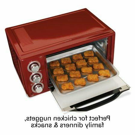 Hamilton Toaster Oven | Red 31514