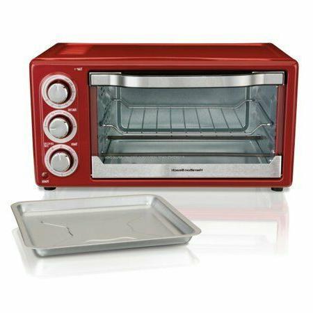 Hamilton Beach 6 Slice Toaster Red