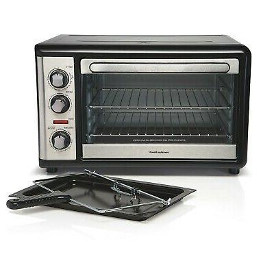 Hamilton XL Convection Oven with Rotisserie Steel New