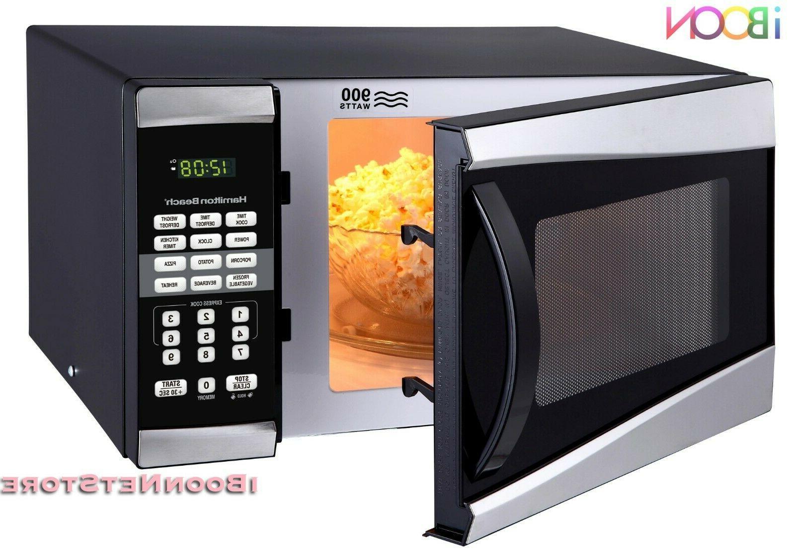 HamiltonBeach Microwave CounterTop Stainless Steel Small