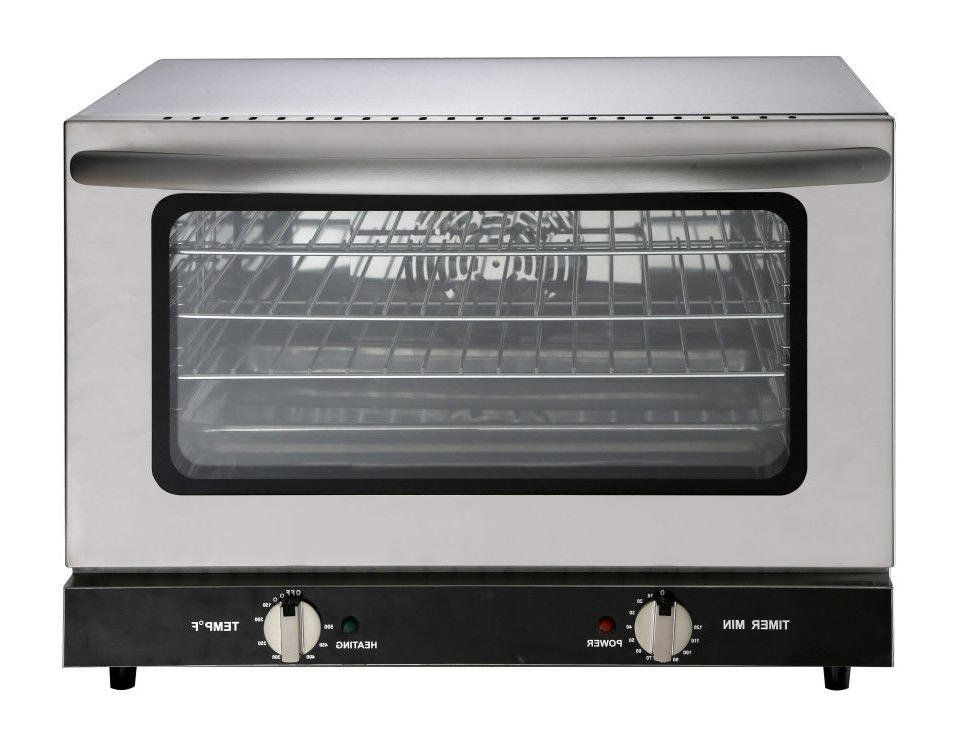 heavy duty half size countertop convection oven