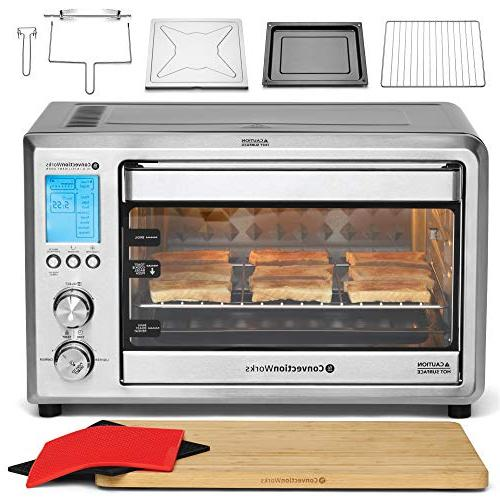 Convectionworks 174 Hi Q Intelligent Countertop Oven Set 9