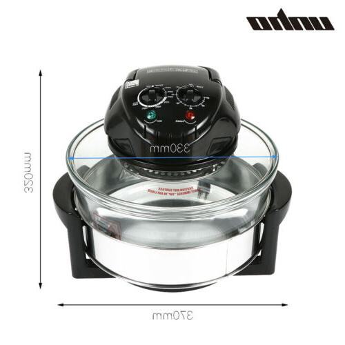 Hot Wave Halogen Infrared Convection Countertop Cooker