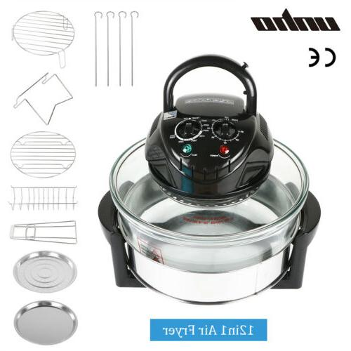 Hot Air Wave Infrared Countertop Oven Cooker