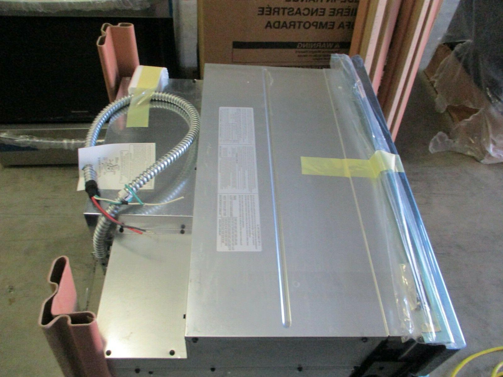 """GE 30"""" Steel Single Convection Wall Oven NOB"""
