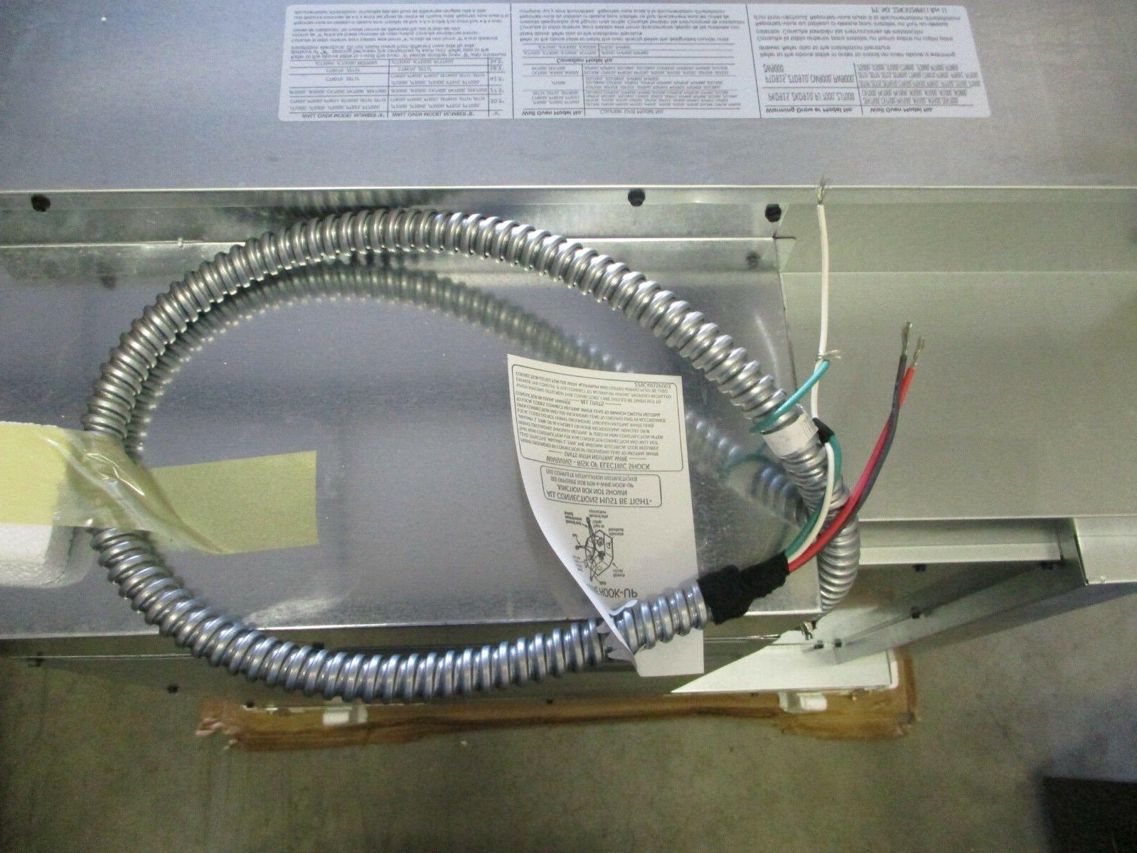 GE Steel Single Electric Wall Oven