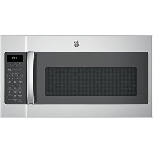 jvm7195skss stainless over range microwave