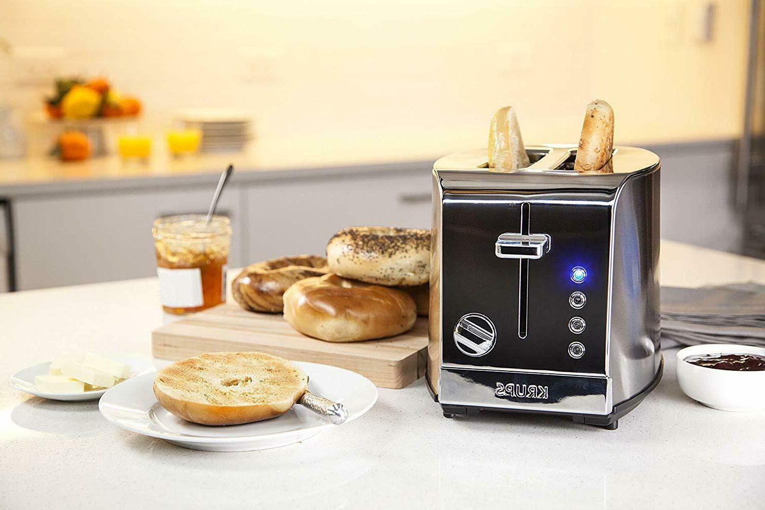 KRUPS Stainless Toaster,