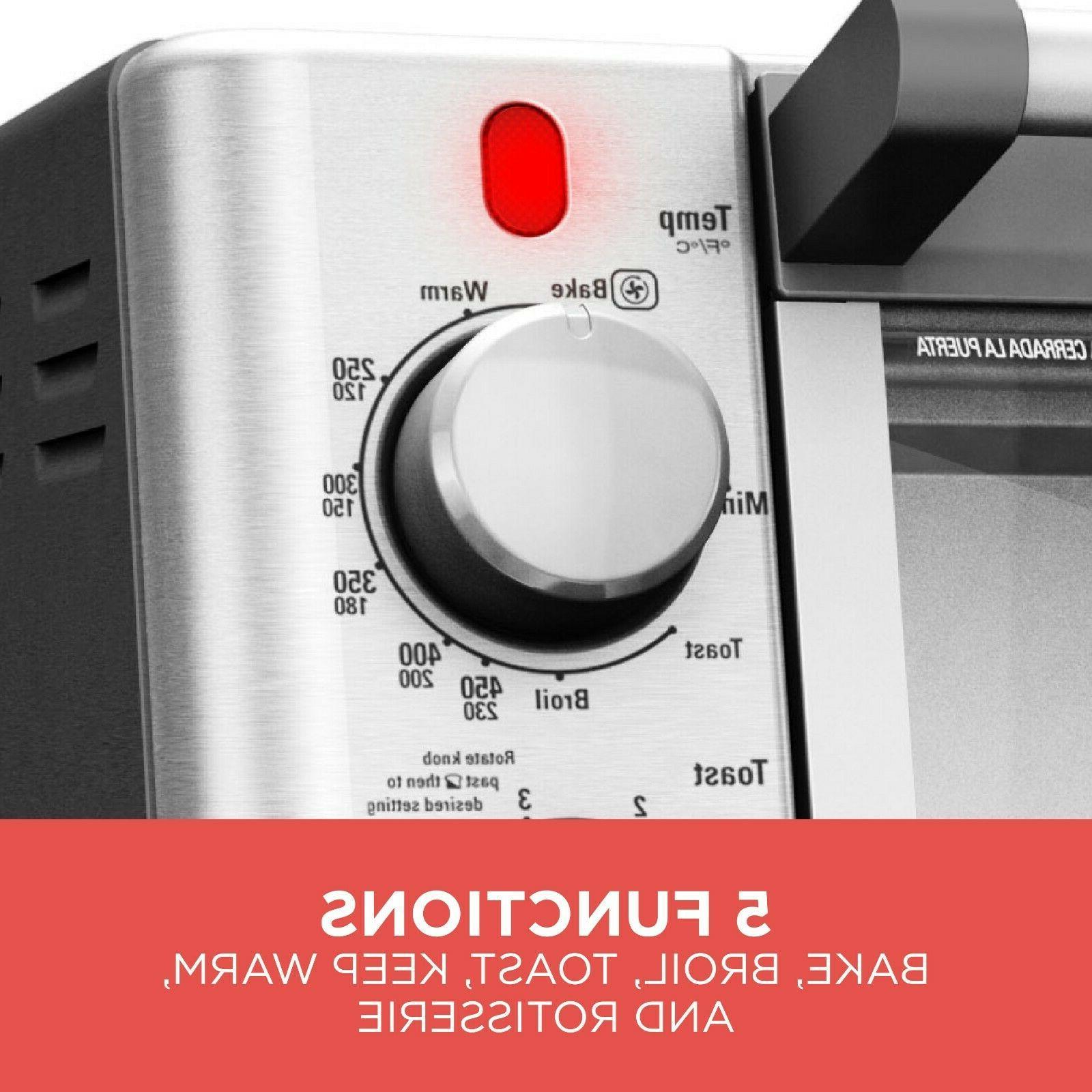 Kitchen Toaster Oven Stainless