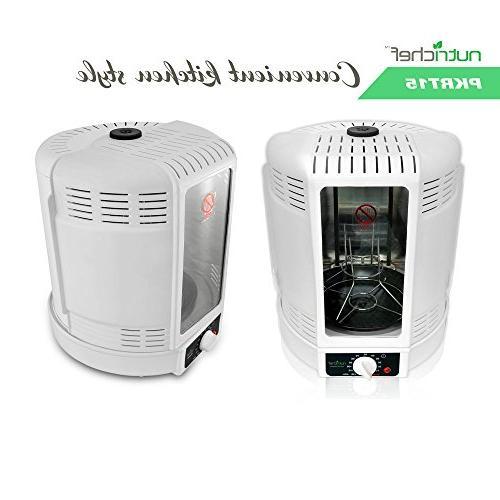 NutriChef PKRT15 Small Appliance One Size White