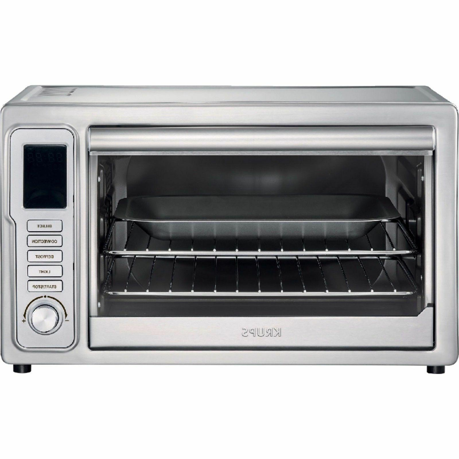 krups deluxe convection toaster oven stainless steel