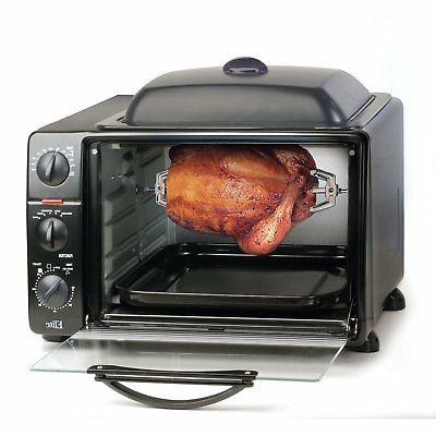 MaxiMatic ERO-2008S 6-Slice Toaster Rotisserie and