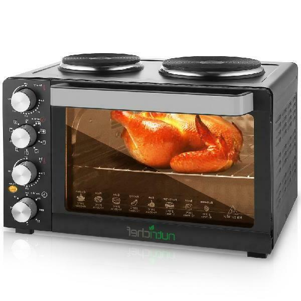 multi function convection oven counter top rotisserie