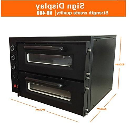 "Chef Prosentials 50Hz NB400 Oven Stainless Steel 15"" Pizza Convection Toaster 350℃"
