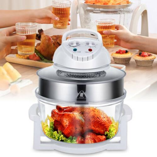 17L Electric Turbo Air Fryer Convection Oven Roaster Multifu