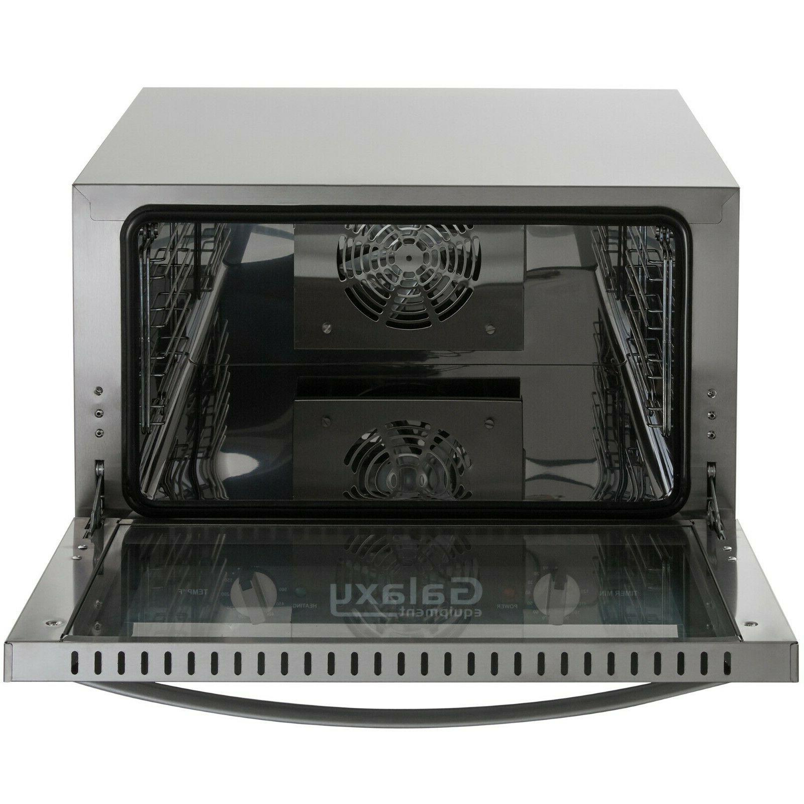 NEW Commercial Half Countertop Convection Oven Cu.