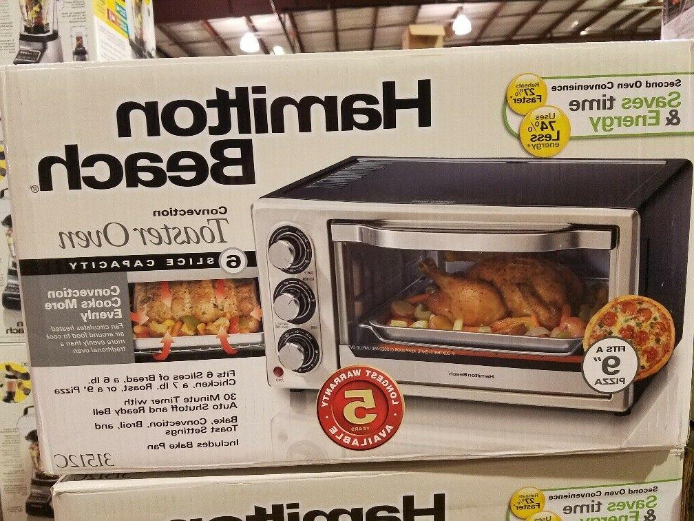 new convection 6 slice toaster oven 31512