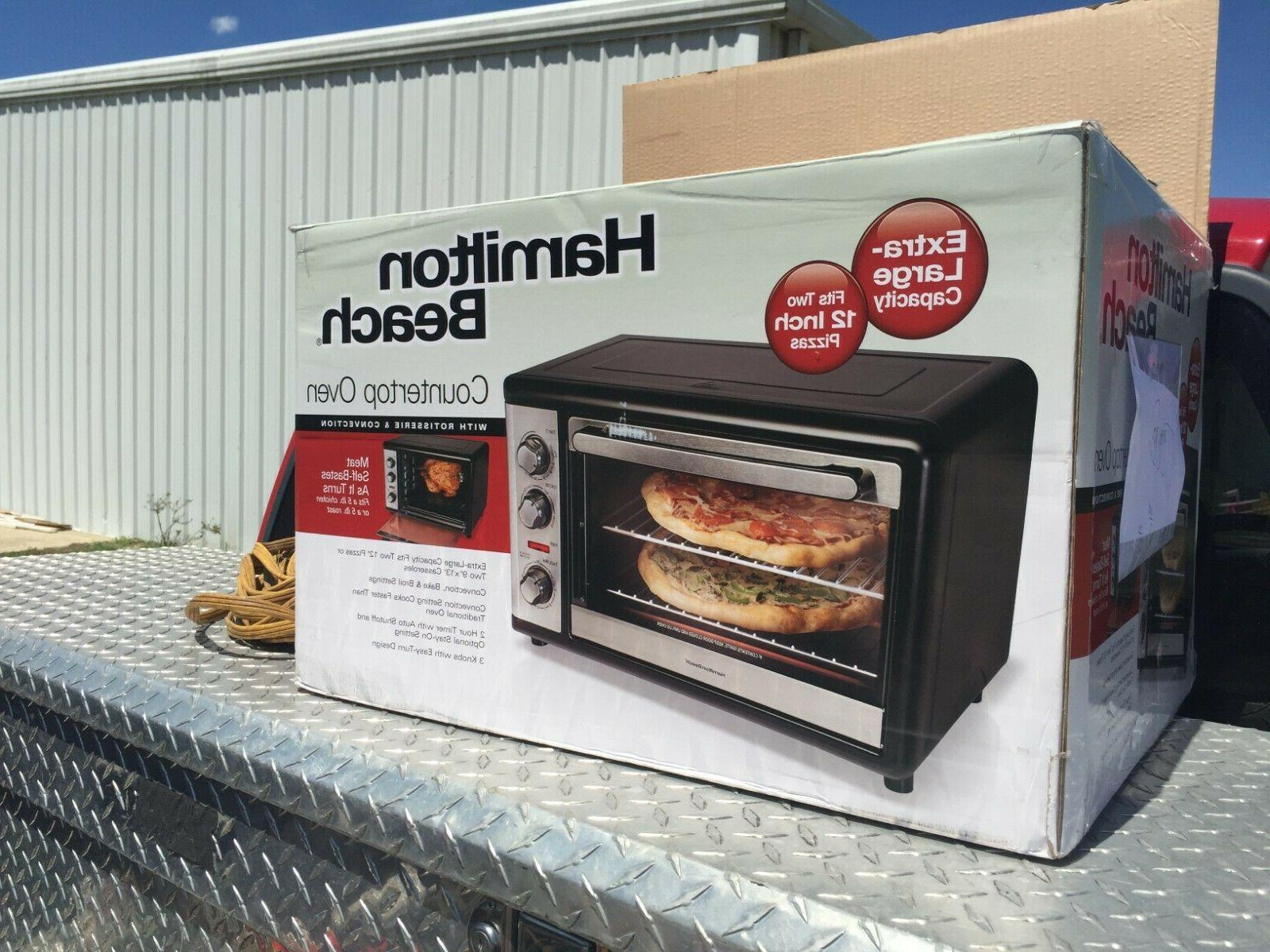 new countertop oven with rotisserie and convection