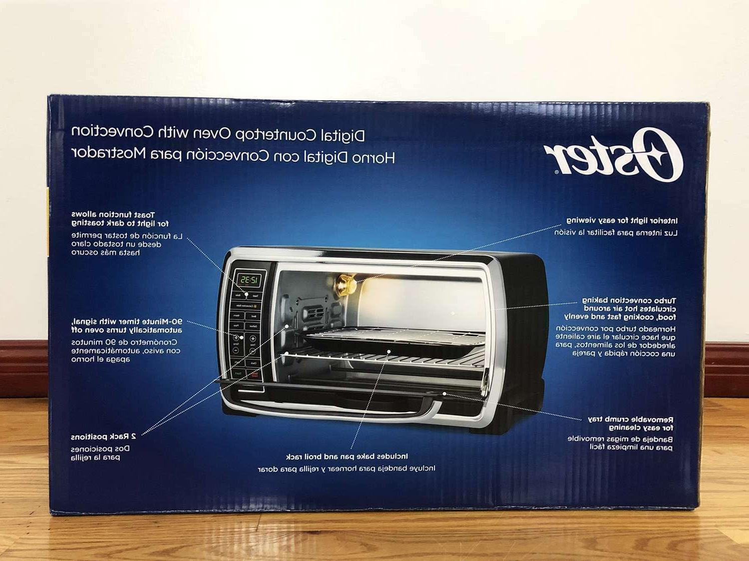 NEW! Capacity 6-Slice Convection Oven