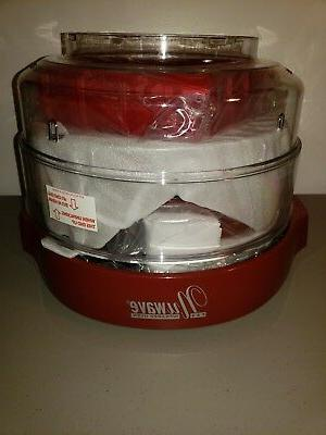 new pro infrared countertop red convection oven