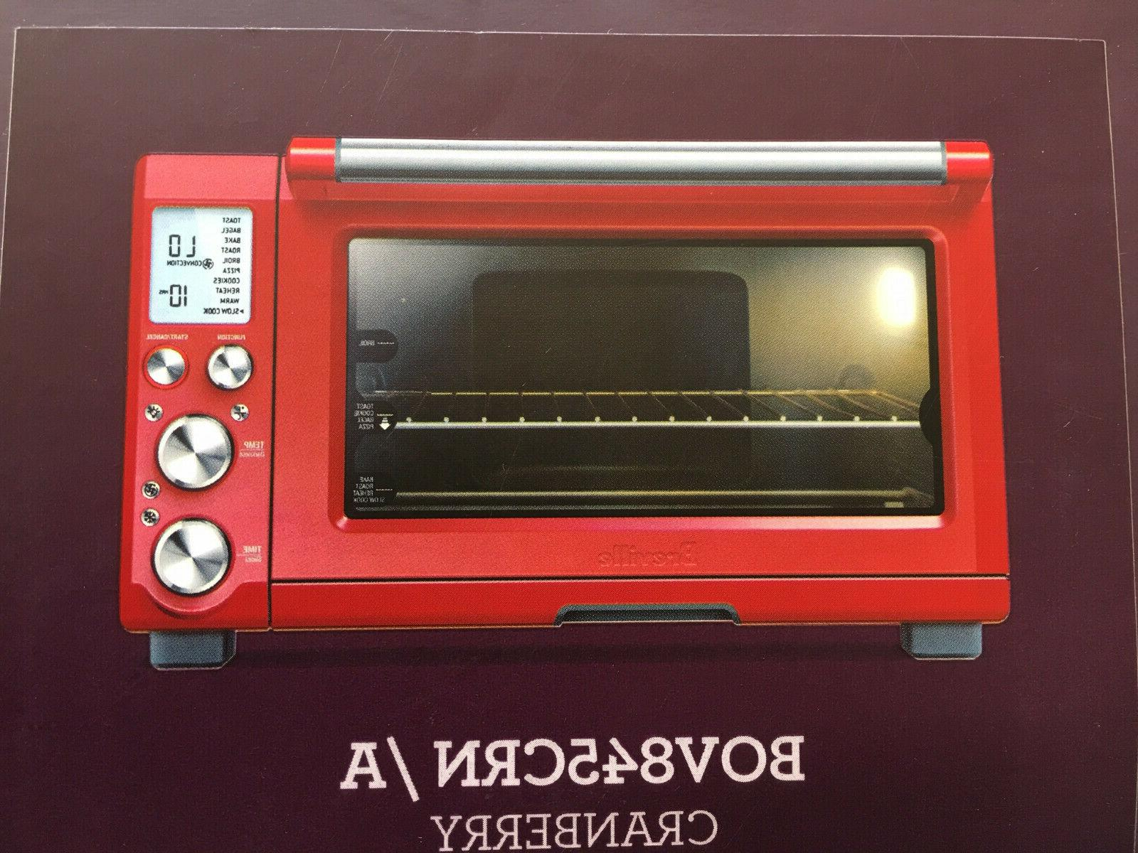 NEW Breville Countertop Convection BOV845CRN, Cranberry