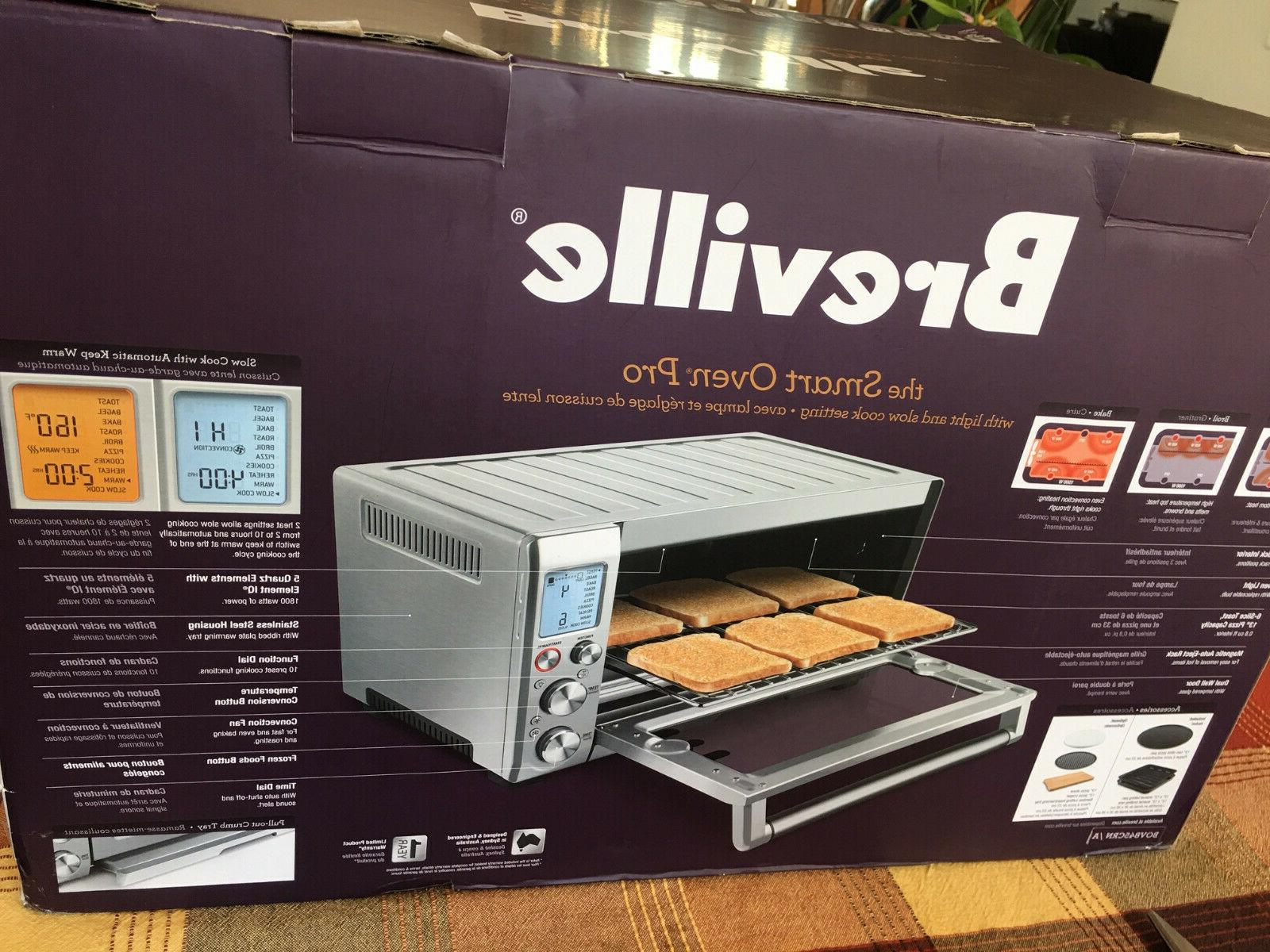 NEW Smart Pro Countertop Convection Oven, BOV845CRN,