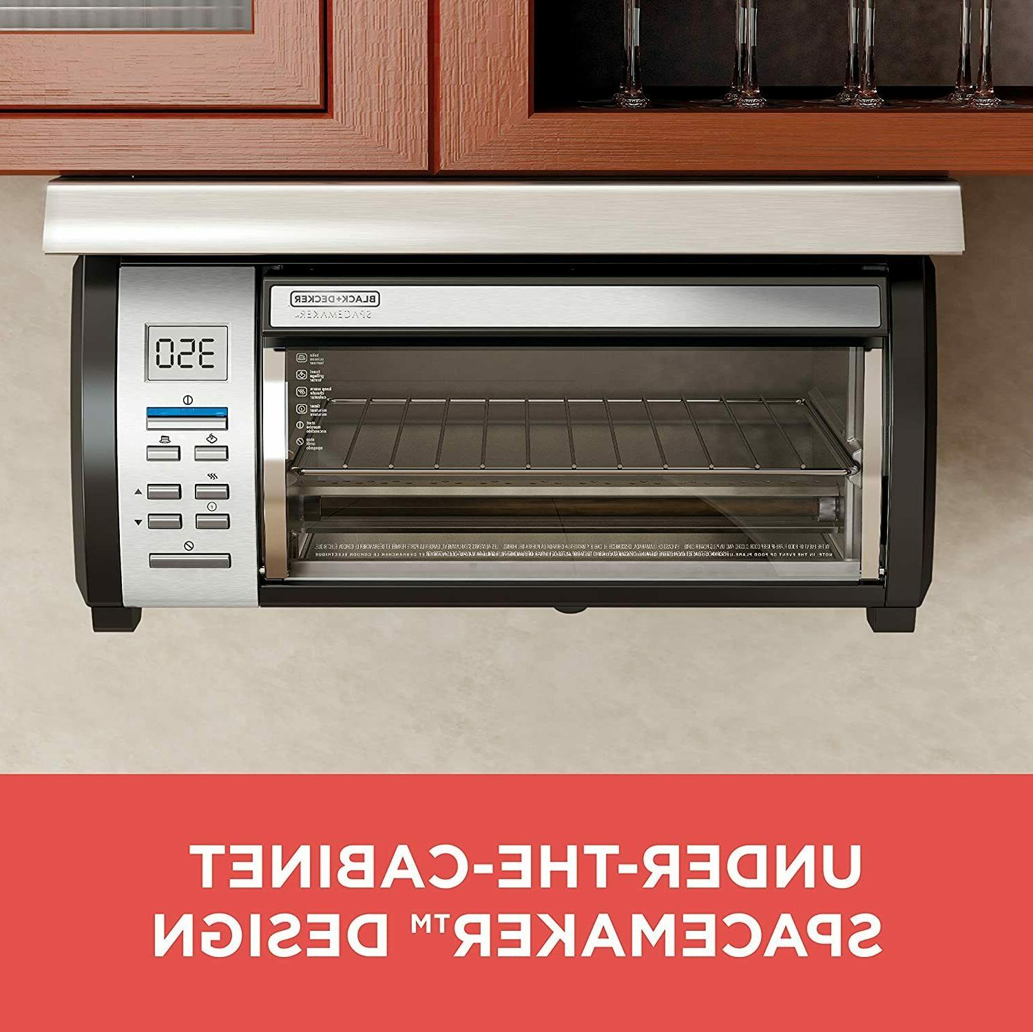 New Under Cabinet Toaster Oven SpaceMaker TROS1000D