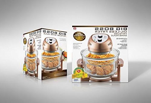 Big Boss Fryer, 16 watt, Limited Edition