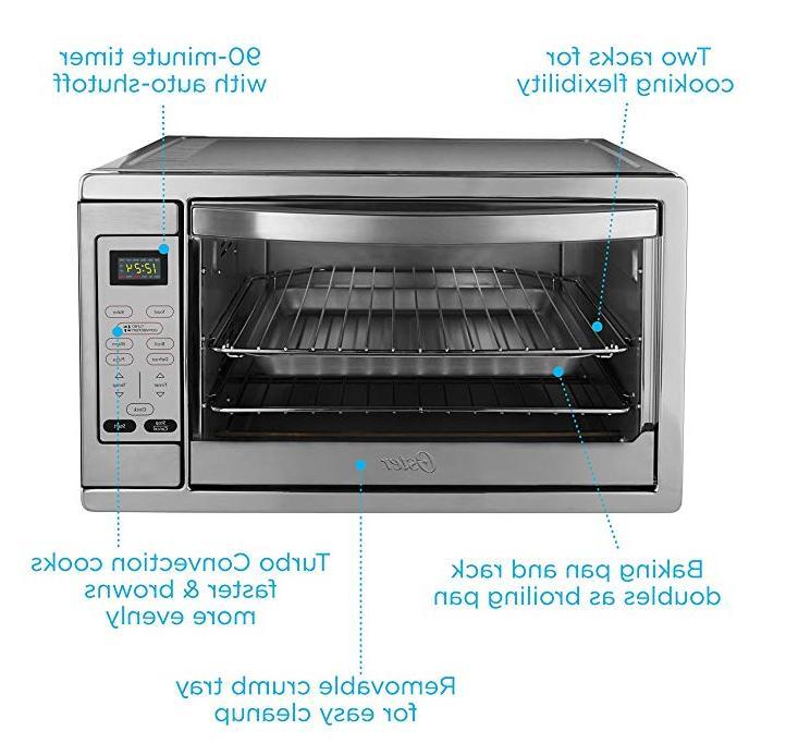 Oster Extra Digital Countertop Oven, Steel