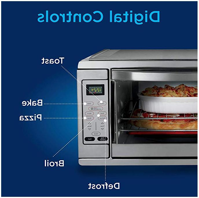 Oster Extra Digital Countertop Convection Steel