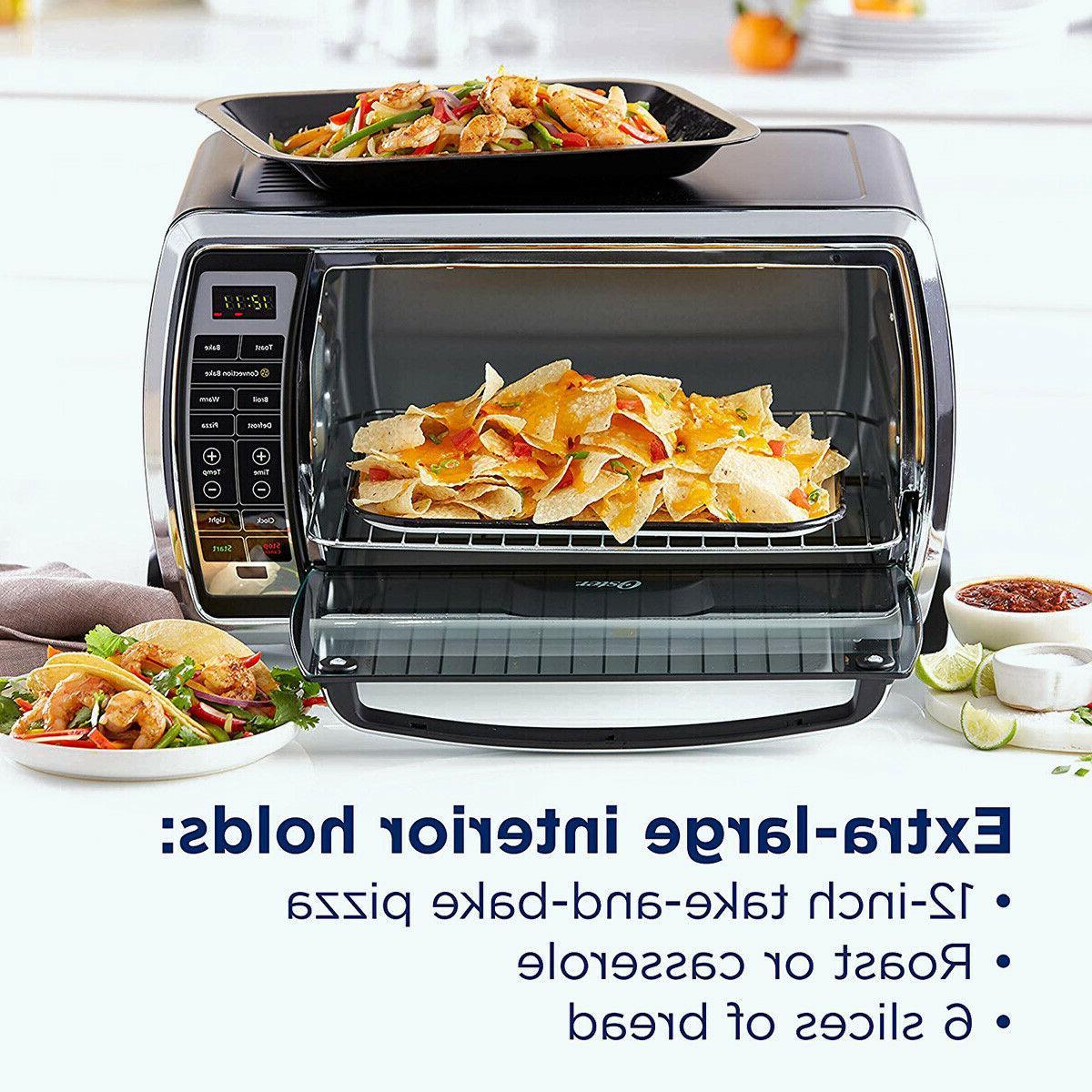 Oster Digital Large 6-Slice Capacity, Black/Poli
