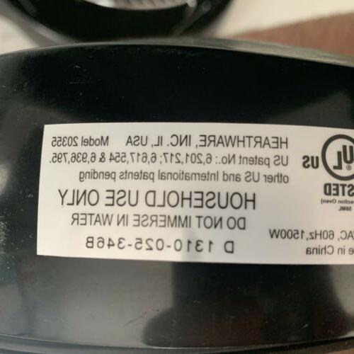 NuWave Oven Model 20355 Infrared Convection Black Clear 2 Rack