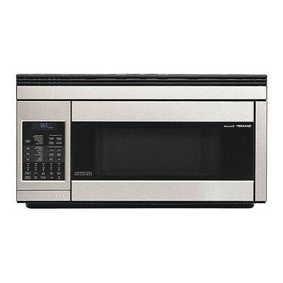 SHARP R1874T Stainless Steel Consumer Over Range Microwave 1