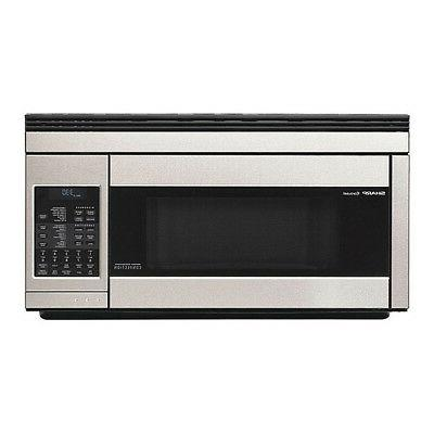 over the counter microwave 850w r1874t