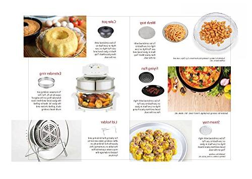 Oyama Accessory Deluxe with Ring, Bundt Pan, Stainless Steamer pan, Grill Turbo lid
