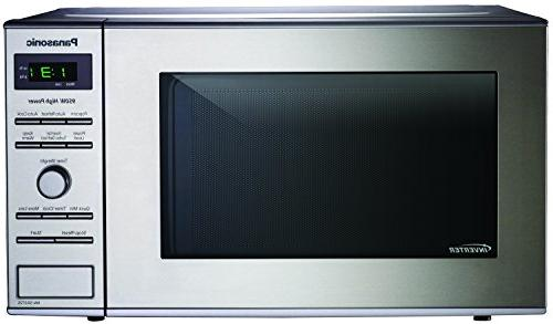 Panasonic Genius Microwave Oven - Single - 0.80 ft Oven - Microwave Power Countertop - Silver, Stainless