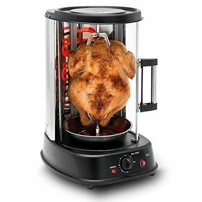 pkrtvg34 rotating kebob cooker vertical