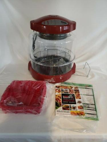 pro infrared cinnamon convection oven w extender