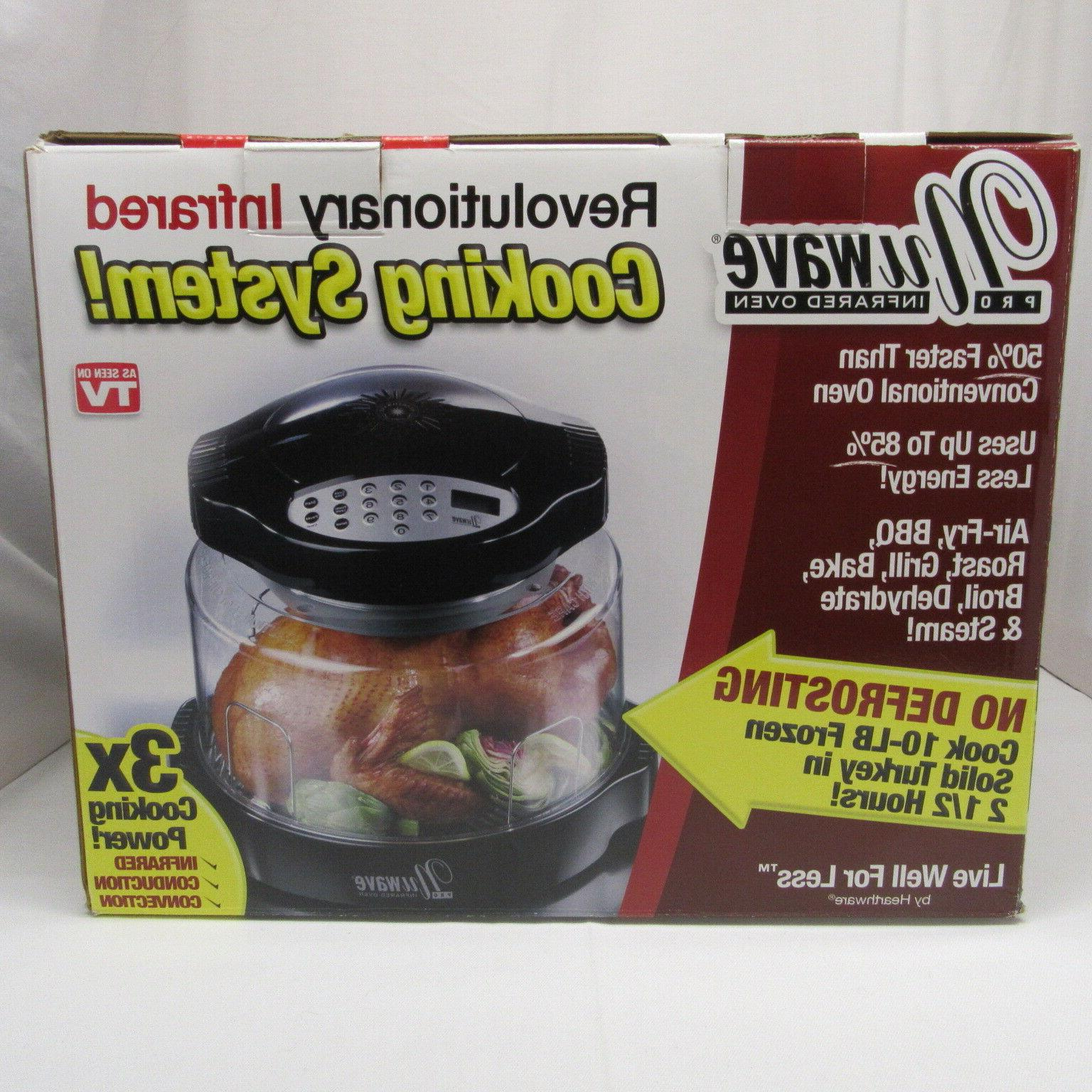 pro infrared oven conduction convection 3x cooking