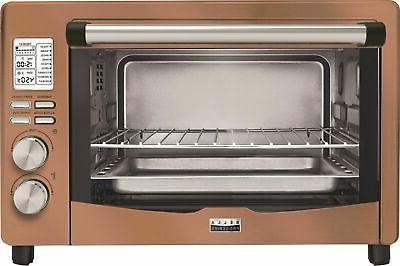 pro series convection toaster pizza oven copper
