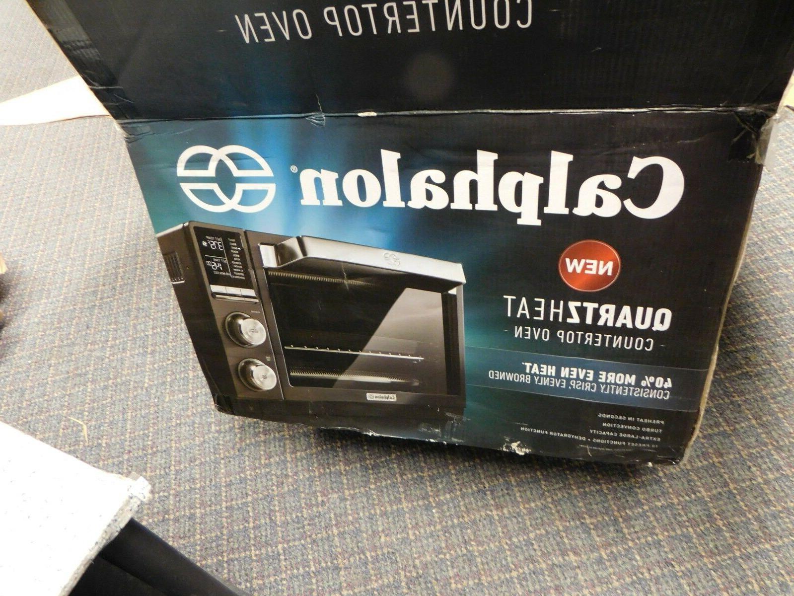 Calphalon Quartz Toaster Oven New Broken