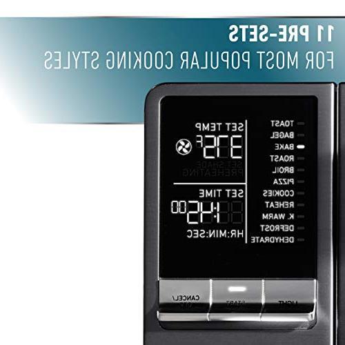 Calphalon Quartz Heat Toaster Oven, Stainless Steel