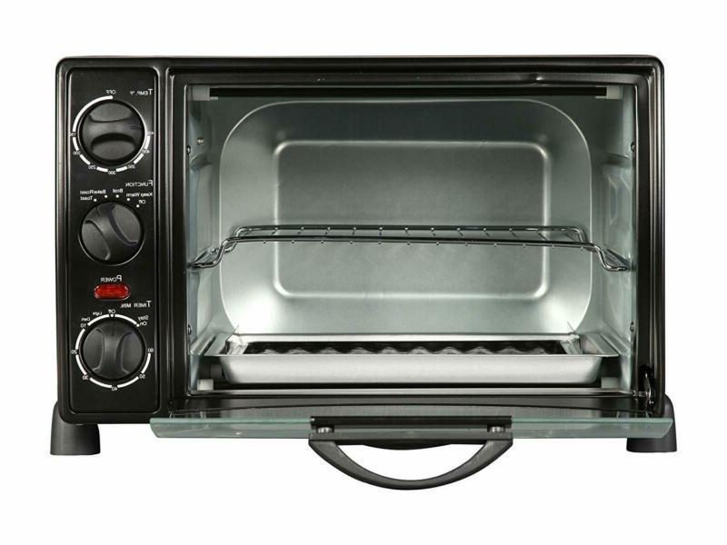rhto 13001 6 slice toaster oven broiler