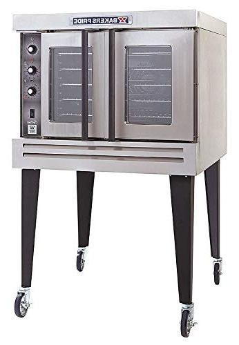 single compartment gas convection ovens