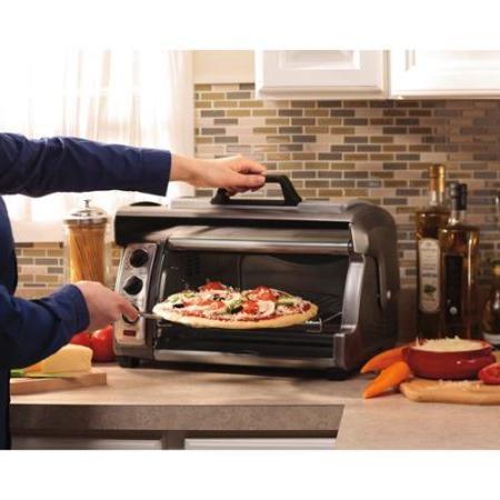 Hamilton 31126 Easy Toaster with Metallic