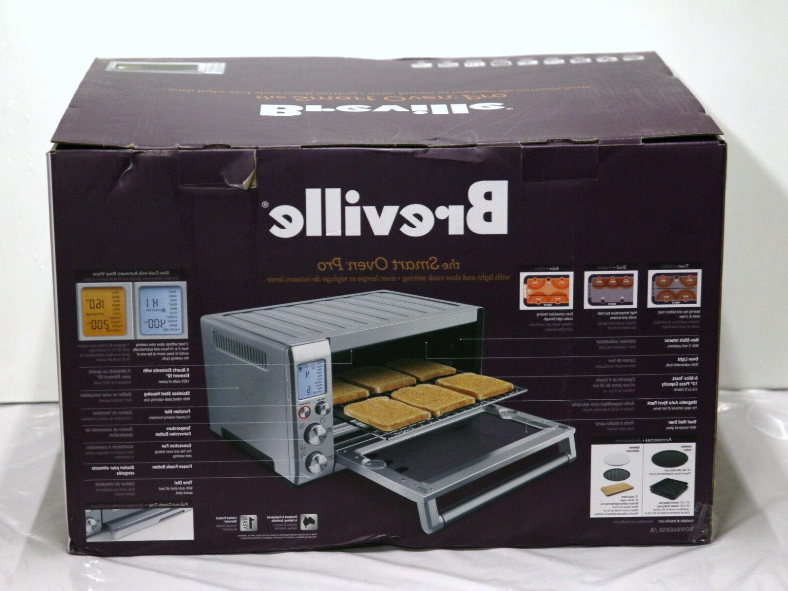 smart oven pro bov845bss convection toaster oven