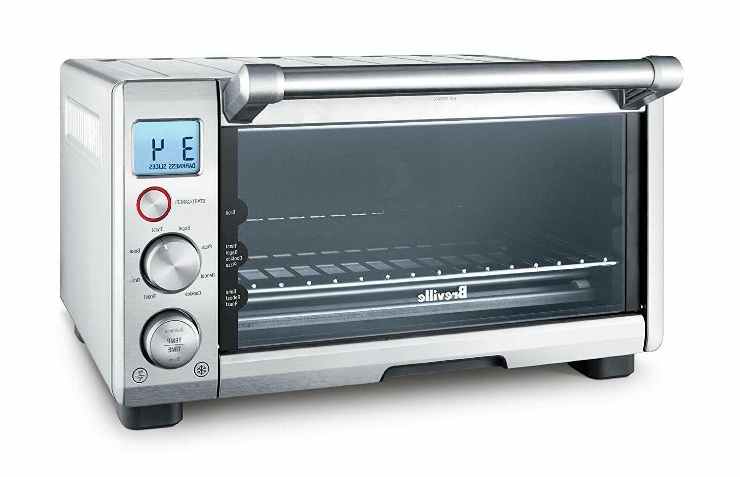 the compact smart oven countertop electric toaster