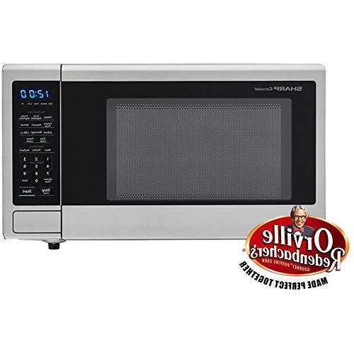 smc1132cs touch microwave turntable