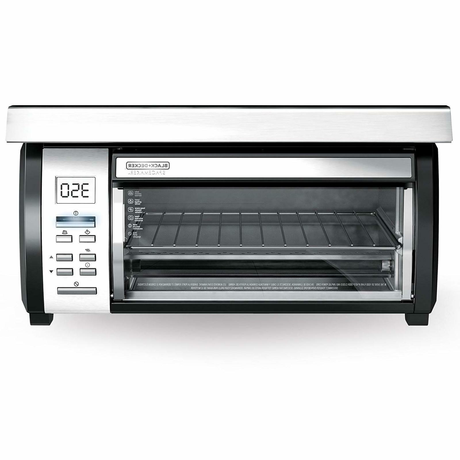 spacemaker toaster oven stainless